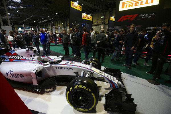 The F1 Racing Stand.