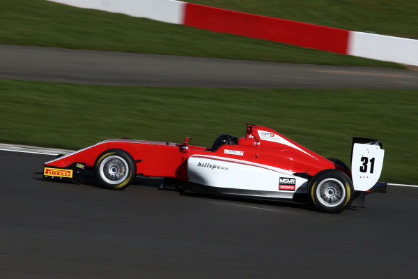 Megan Gilkes (CAN) Hillspeed BRDC F3