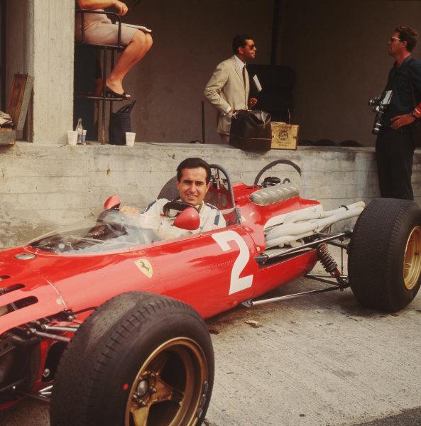 Formula 1 World Championship.Lorenzo Bandini (Ferrari).Ref-2349.World - LAT Photographic