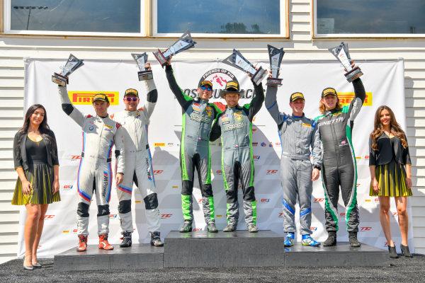 #47 Porsche 718 Cayman CS MR of Matt Travis and Jason Hart  Rose Cup Races, Portland OR  Warren Dexter, and Ryan Dexter  Sean Quinlan, and and Gregory Liefooghe
