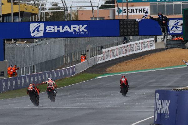 Danilo Petrucci, Ducati Team Alex Marquez, Repsol Honda Team Pol Espargaro, Red Bull KTM Factory Racing.
