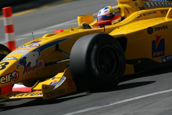 2006 Monaco Grand Prix - Renault World SeriesMonte Carlo, Monaco. 23rd - 28th May.Pastor Maldonado. Action.World Copyright: Glenn Dunbar/LAT Photographicref: Digital Image YY8P5590