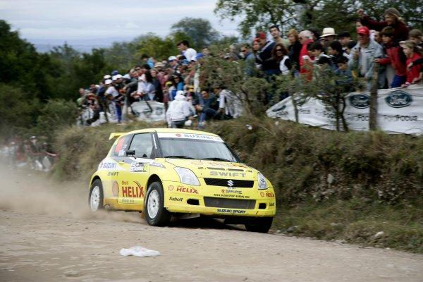 2006 FIA World Rally Champs. Round 6Rally Argentina. 27th-30th April 2006Guy Wilks, Suzuki, actio.World Copyright: McKlein/LAT