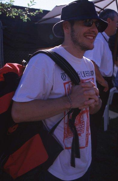 2000 Australian Grand Prix.Albert Park, Melbourne, Australia.10-12 March 2000.Jacques Villeneuve (B.A R. Honda) 4th position.Ref-2K AUS 60.World Copyright - LAT Photographic