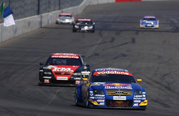 2003 DTM Championship Lausitz, Germany. 6th - 8th June 2003Mattias Ekstrom (Audi), action.World Copyright: Andre Irlmeier/LAT Photographic
