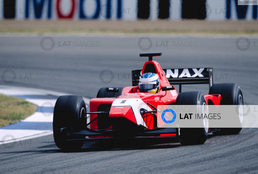 2003 International F3000 - raceSilverstone, England. 20th July 2003Bjorn WirdheimWorld Copyright - LAT Photographicref: Priority F3K A0