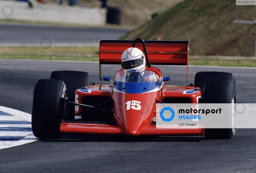 1986 Spanish Grand Prix.Jerez