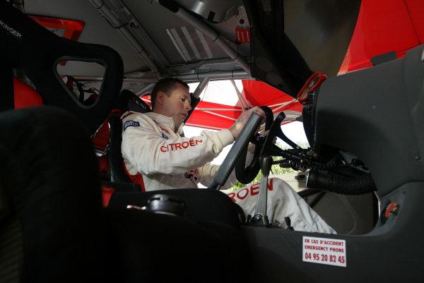 2003 FIA World Rally Champs. Round Twelve Corsica Rally 16th-19th October 2003.Colin McRae, Citroen, Portrait.World Copyright: McKlein/LAT