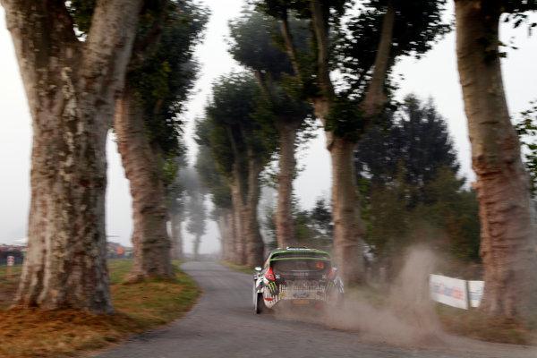 Round 11-Rallye de France. Ken Block, Ford WRC, Action.Worldwide Copyright: McKlein/LAT