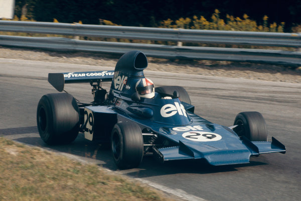 1973 Canadian Grand Prix.  Mosport Park, Ontario, Canada. 21st-23rd September 1973.  Chris Amon, Tyrrell 005 Ford.  Ref: 73CAN48. World Copyright: LAT Photographic