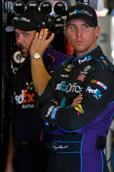 November 2-4, 2012 Fort Worth, Texas USA Darian Grubb and Denny Hamlin, FedEx Office Toyota Camry.(c) 2012, LAT South LAT Photo USA .