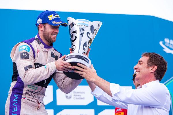 2015/2016 FIA Formula E Championship. Buenos Aires ePrix, Buenos Aires, Argentina. Saturday 6 February 2016. Sam Bird (GBR), DS Virgin Racing DSV-01. Photo: Zak Mauger/LAT/Formula E ref: Digital Image _MG_8363