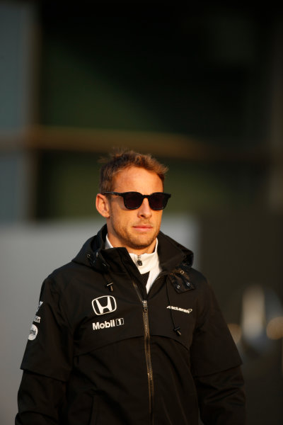 Shanghai International Circuit, Shanghai, China. Friday 10 April 2015. Jenson Button, McLaren. World Copyright: Glenn Dunbar/LAT Photographic. ref: Digital Image _W2Q3035