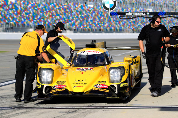 2017 WeatherTech Sportscar Championship December Daytona Testing Wednesday 6 December 2017 #85 JDC/Miller Motorsports ORECA LMP2: Simon Trummer  World Copyright: Alexander Trienitz/LAT Images  ref: Digital Image 2017-IMSA-Test-Dayt-AT1-1766