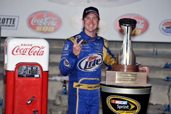 27-30 May, 2010, Concord, North Carolina USAKurt Busch celebrates his win in Victory Lane©2010, LAT South, USALAT Photographic