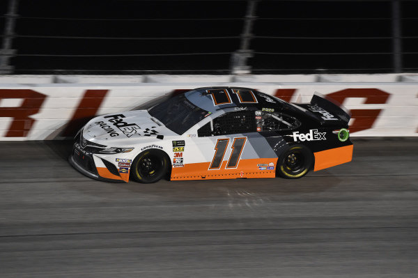 #11: Denny Hamlin, Joe Gibbs Racing, Toyota Camry FedEx Darlington Throwback