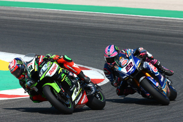 Leon Haslam, Kawasaki Racing Team, Alex Lowes, Pata Yamaha.