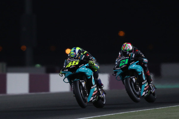 Valentino Rossi, Petronas Yamaha SRT Franco Morbidelli, Petronas Yamaha SRT  .