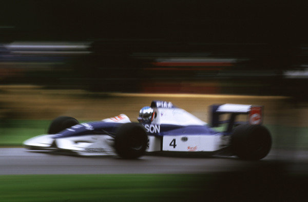 2000 Festival of Speed.Goodwood, England, Great Britain. 23-25 June 2000.Jean Alesi (Tyrrell 019-Ford Cosworth).World - LAT Photographic