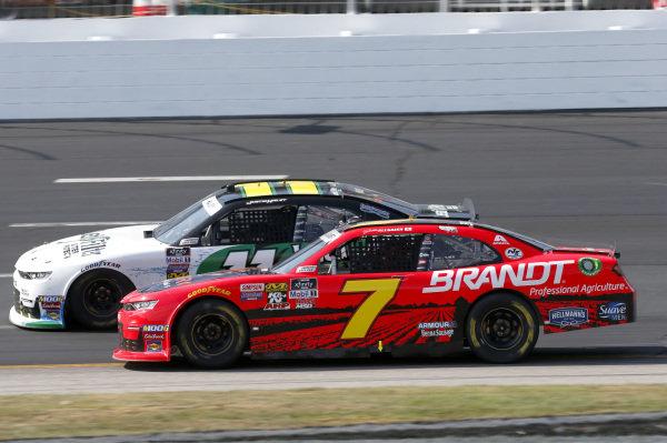 #7: Justin Allgaier, JR Motorsports, Chevrolet Camaro BRANDT / Rev1 Energy