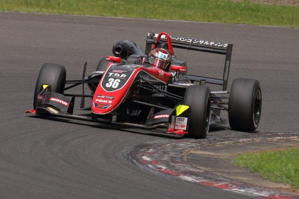 Round 14  Ritomo Miyata, Corolla Chukyo Kuo TOM'S Dallara F317 Toyota, 3rd