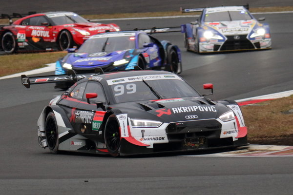 Super GT - DTM Dream Race. Mike Rockenfeller, Audi Sport team Abt Sportline, Audi RS5 Turbo DTM in race two