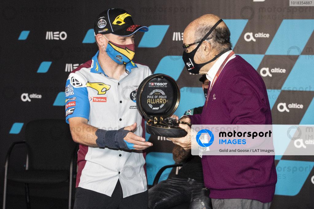 Sam Lowes, Marc VDS Racing, Carmelo Ezpeleta, CEO Dorna Sports