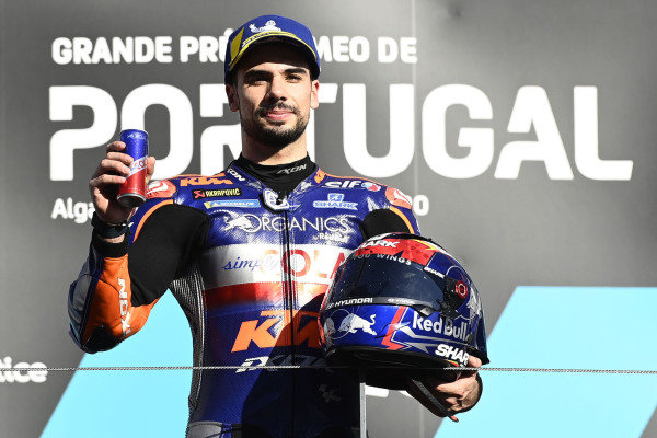 Podium: race winner , Miguel Oliveira, Red Bull KTM Tech 3.