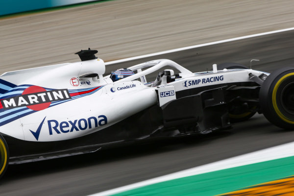 Lance Stroll, Williams FW41 Mercedes.