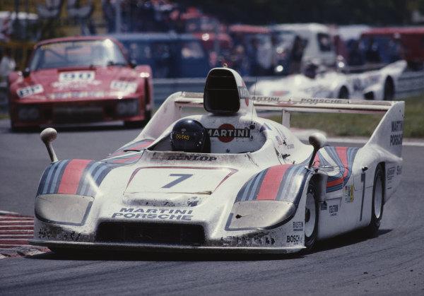 Hurley Haywood / Peter Gregg / Reinhold Jöst, Martini Racing Porsche System, Porsche 936/77.