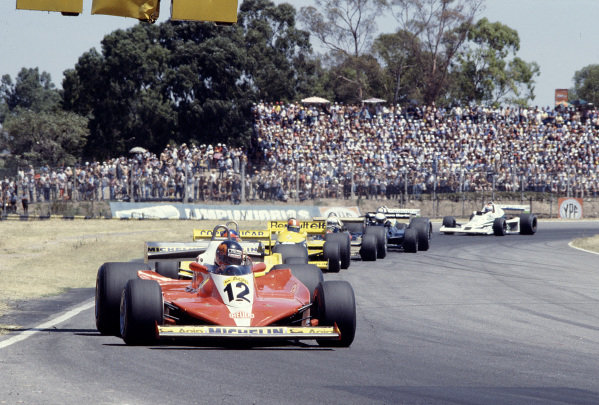 1979 Argentinian Grand Prix. Buenos Aires, Argentina. 19-21 January 1979. Gilles Villeneuve (Ferrari 312T3) 12th position. Ref-79 ARG 31. World Copyright - LAT Photographic