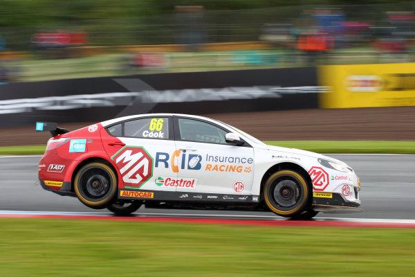 2017 British Touring Car Championship, Knockhill, Scotland. 12th-13th August 2017, Josh Cook (GBR) MG 888 World copyright. JEP/LAT Images