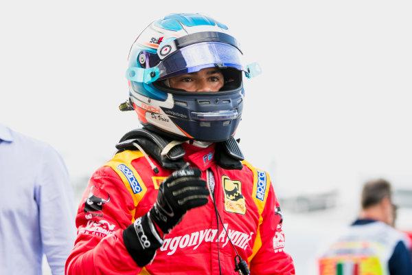 2017 FIA Formula 2 Round 9. Autodromo Nazionale di Monza, Monza, Italy. Friday 1 September 2017. Nyck De Vries (NED, Racing Engineering).  Photo: Zak Mauger/FIA Formula 2. ref: Digital Image _54I6146