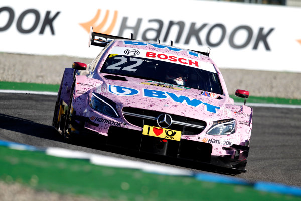 2017 DTM Round 9  Hockenheimring, Germany  Saturday 14 October 2017. Lucas Auer, Mercedes-AMG Team HWA, Mercedes-AMG C63 DTM  World Copyright: Alexander Trienitz/LAT Images ref: Digital Image 2017-DTM-HH2-AT3-0785