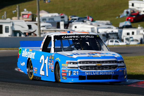 NASCAR Camping World Truck Series Chevrolet Silverado 250 Canadian Tire Motorsport Park Bowmanville, ON CAN Saturday 2 September 2017 Johnny Sauter, Allegiant Travel Chevrolet Silverado World Copyright: Russell LaBounty LAT Images