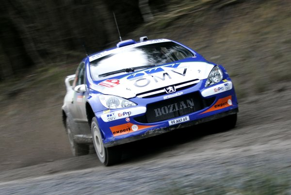2006 World Rally Championship.Round 16. Wales Rally GB. 1st - 3rd December 2006.Manfred Stohl/Ilka Minor, Peugeot 307 WRC. Action.World Copyright: Alastair Staley/LAT Photographic.ref: Digital Image _F6E7091