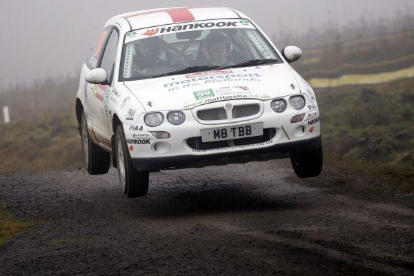 2006 British Rally Championship.Wales Rally GB. 1st-3rd December 2006.Matt BeebeWorld Copyright: Ebrey/LAT Photographic.