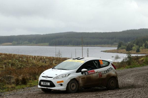 2017 Prestone MSA British Rally Championship,  Scottish Rally, Dumfries. 19th - 20th May 2017. Josh Cornwell / Richard Bliss Ford Fiesta R2. World Copyright: JEP / LAT Images.