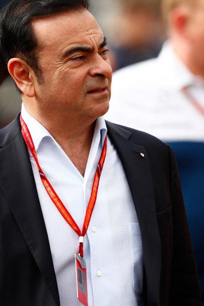 Monte Carlo, Monaco. Thursday 25 May 2017. Carlos Ghosn, CEO, Renault. World Copyright: Sam Bloxham/LAT Images ref: Digital Image _W6I0592