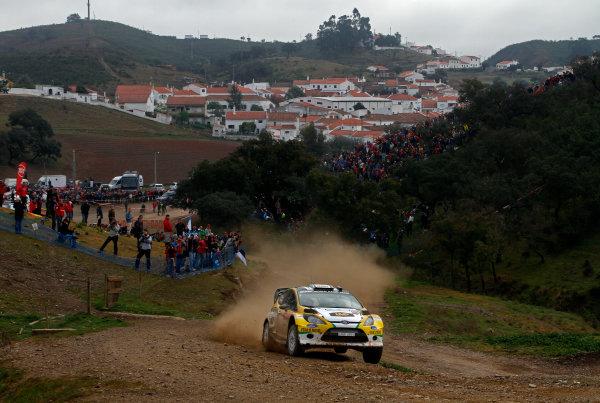 Round 04-Rally Portugal 28/3-1/4 2012. Daniel Oliveira, Ford  WRC, ActionWorldwide Copyright: McKlein/LAT