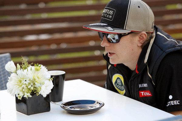 Albert Park, Melbourne, Australia15th March 2012.Kimi Raikkonen, Lotus GP. World Copyright:Andrew Ferraro/LAT Photographicref: Digital Image _Q0C8152