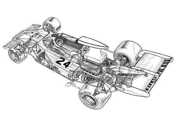 Frank Williams Racing Cars Iso Marlboro FX3B 1973