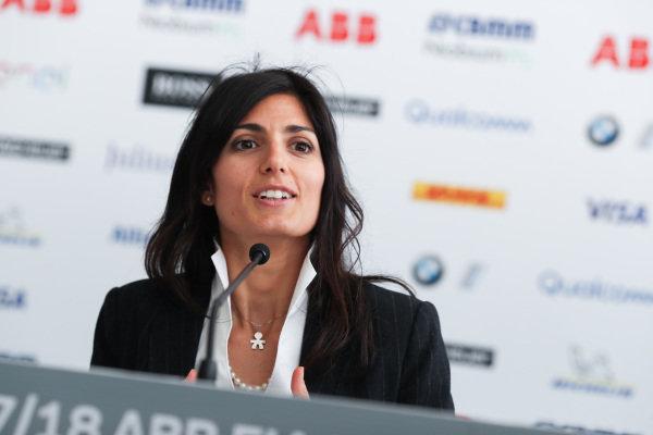 Virginia Elena Raggi, Mayor of Rome.