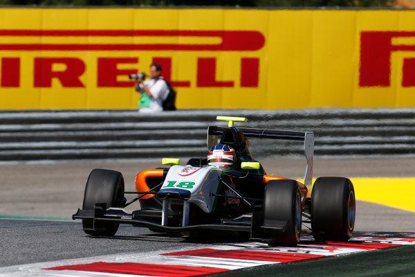 2014 GP3 Series Round 2. Red Bull Ring, Spielberg, Austria. Sunday 22 June 2014. Nelson Mason (CAN, Hilmer Motorsport)  Photo: Alastair Staley/GP3 Series Media Service. ref: Digital Image _R6T3425