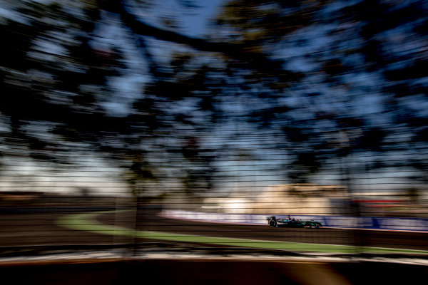 2016/2017 FIA Formula E Championship. Marrakesh ePrix, Circuit International Automobile Moulay El Hassan, Marrakesh, Morocco. Saturday 12 November 2016. Adam Carroll (GBR), Jaguar Racing, Spark-Jaguar, Jaguar I-Type 1.  Photo: Zak Mauger/LAT/Formula E ref: Digital Image _L0U6630