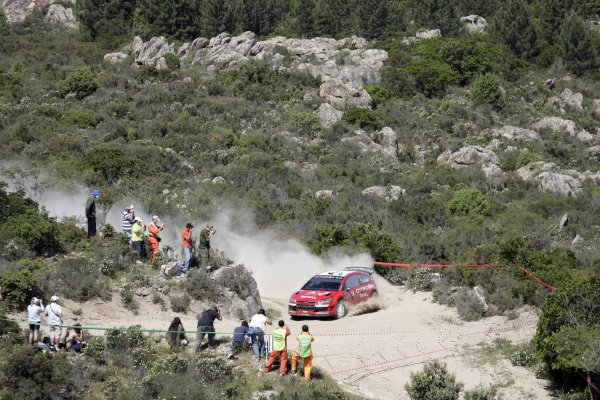 2007 FIA World Rally ChampionshipRound 7Rally Italy Sardinia 200717- 20 of May 2007Sebastien Loeb, Citroen, Action.Worldwide Copyright: McKlein/LAT