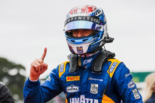 2017 FIA Formula 2 Round 6. Silverstone, Northamptonshire, UK. Sunday 16 July 2017.Nicholas Latifi (CAN, DAMS).  Photo: JEP/FIA Formula 2. ref: Digital Image 1DXA9171