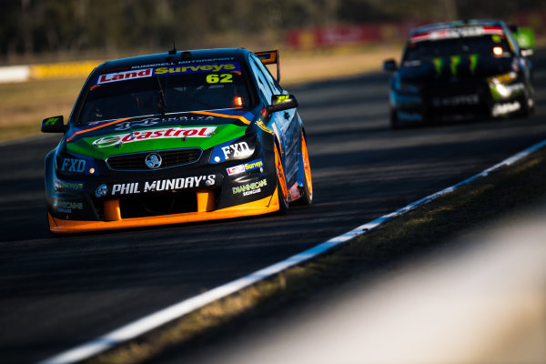 2017 Supercars Championship Round 8.  Ipswich SuperSprint, Queensland Raceway, Queensland, Australia. Friday 28th July to Sunday 30th July 2017. Alex Rullo, Lucas Dumbrell Motorsport Holden.  World Copyright: Daniel Kalisz/ LAT Images Ref: Digital Image 280717_VASCR8_DKIMG_8454.jpg