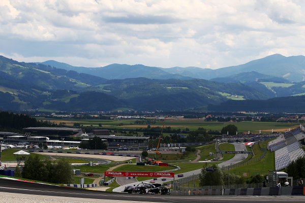 2017  European Le Mans Series, Red Bull Ring, 21st-23rd July 2017, #11 Giorgio Mondini (ITA) / Davide Uboldi (ITA) ? EUROINTERNATIONAL - Ligier JS P3 ? Nissan World Copyright. JEP/LAT Images