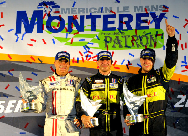 16-18 September, 2011, Monterey, California USA#63 Genoa Racing wins LMPC class.(c)2011,  Dan R. Boyd  LAT Photo USA